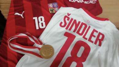 Matyáš Šindler v Hodoníně - juniorský mistr světa